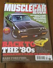 Buick Grand National GNX Muscle Car Review 2017 Feature Article #547 HTF