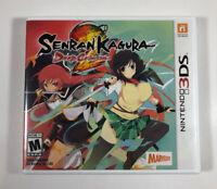 Senran Kagura 2: Deep Crimson (Nintendo 3DS) No Manual - Fast Free Shipping.