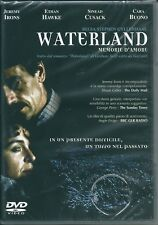 Waterland. Memorie d'amore (1992) DVD NEW Jeremy Irons Ethan Hawke Sinead Cusack