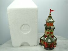DEPT 56 SANTAS LOOKOUT TOWER Heritage Village Collection Classic Ornament #98742