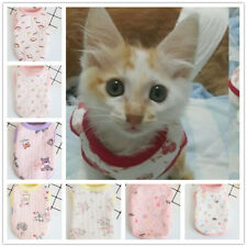 Cat Clothing Shirt Kitten Kitty Clothes for Teacup small puppies XXXS XXS XS