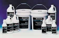 Branson AQUEOUS MC 3 Liquid Metal Cleaner for Ultrasonic Cleaners, Case/4 Gal.