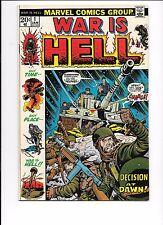 War Is Hell #1 January 1973 Marvel Comics