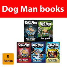 Dog Man series Dav Pilkey Collection 5 Books set pack Lord of the Fleas NEW