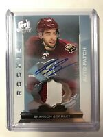 2014-15 Upper Deck The Cup Brandon Gormley RPA Rookie Patch Auto /249