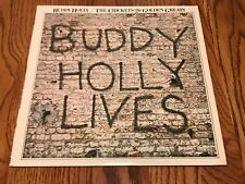 BUDDY HOLLY THE CRICKETS ~ 20 GOLDEN GREATS LP 1978