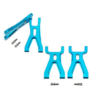 Blue Front Rear Lower Suspension Arm For 1/18 WLtoys A959 A969 A979