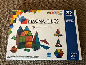 Magna-Tiles 3D Magnetic Building Tiles 32 Piece Set