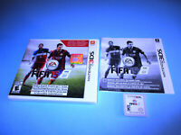 Fifa 15 Legacy Edition 2015 (Nintendo 3DS) XL 2DS Game w/Case & Insert