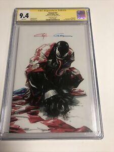 Venom (2020) # 27 (CGC SS 9.4) Signed Clayton Crain | Crain Variant Cover B