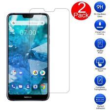 [2 paquete] Para Nokia 7.1 (2018) Vidrio templado protector de pantalla