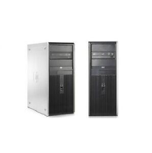 HP Compaq DC7900 Desktop Tower PC Core 2 Duo 3.0GHz 4GB RAM 120GB 1TB HDD WIFI