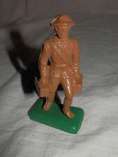 "Vintage Beton Hard Plastic Us Dough Boy Soldier - 2.5"" tall"