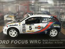 1:43 FORD FOCUS WRC RALLY CATALUNYA 2000 COLIN MCRAE NICKY GRIST #5 DEAGOSTINI