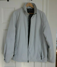 Winter Weatherproof Jacket - warm, water resistant, w/ hidden hood - Men Size L