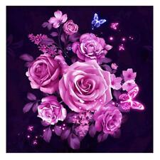 Pink 5d DIY Flower Diamond Painting Embroidery Cross Stitch Home Decor Gift E0xc