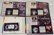 4 Video Cassette Betamax Musica lElvis/Prince/Dire Straits/Wham G.Michael-00DL