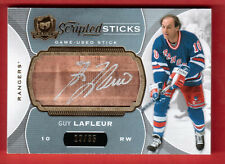 2014-15 UD THE CUP SCRIPTED STICKS #SS-LA 19/35 GUY LAFLEUR NEW YORK RANGERS