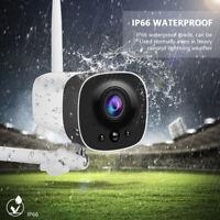 Wireless Solar WiFi IP Camera 1080P HD Security Surveillance Outdoor Waterproof