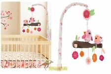 Brand New Spring Time Birds Baby Cot Musical Mobile 3 Designs