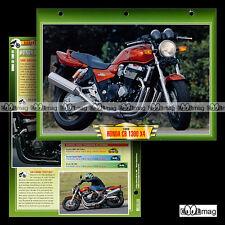 #035.02 Fiche Moto HONDA CB 1300 X4 1999 Motorcycle Card