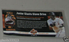 2010 Pablo Sandoval Pandoval Pin SF Giants SGA Junior Giants