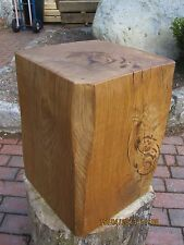 SOLID  AIR DRIED ENGLISH OAK RUSTIC  COFFEE / BEDSIDE TABLE STOOL CHAIR HANDMADE