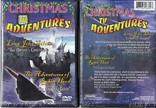 Christmas TV Adventures-Long John Silver/Robin Hood; 2 Movies on 1 DVD