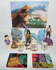 Disney Raya And the Last Dragon Figure Set of 10 with 2 Stickers Fun Characters