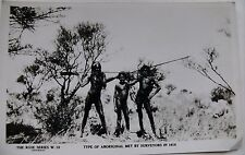 Australian Antique Aboriginal 1914 Postcard Photo Rose Series W12 Trans Railway