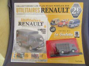 570G IXO Hachette Utilitaires Renault Goélette Bétaillère 1959 1:43 + Boite