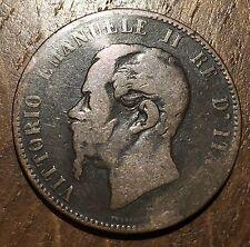 PIECE DE 10 CENTESIMI VITTORIO EMANUELE III 1867 N (211)