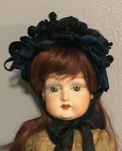 Artisan Hat For Antique or Reproduction Bisque Doll