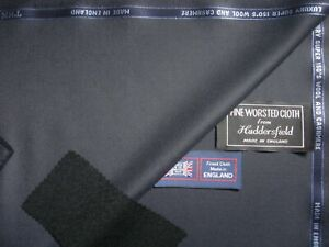 CHARLES CLAYTON SUPER 150's WOOL & CASHMERE SUITING FABRIC IN DK NAVY*See Below*