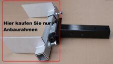 Adapter für unsere Schneeschild  für Rasentraktor zB Sabo, MTD, Viking,