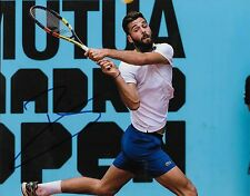 Autographed Benoit Paire ATP Tennis 8x10 Photo