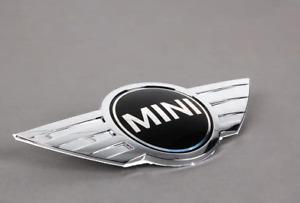 """Neuf Original MINI Cooper """" MINI """" Coffre Arrière Emblème Logo 7026186 OEM"""