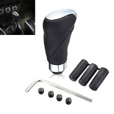 Black Leather Car Suv Manual/Automatic Knob Gear Shift Head Shifter Lever Stick (Fits: Chrysler Concorde)