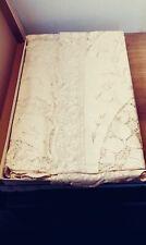 Vintage QUAKER LACE Tablecloth WHITE HOUSE PATTERN  72 X 90 Dead Stock 6280 Rare