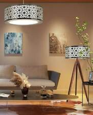 Mexican Floor Lamp living room stainless steel / tzalam MIMBRE
