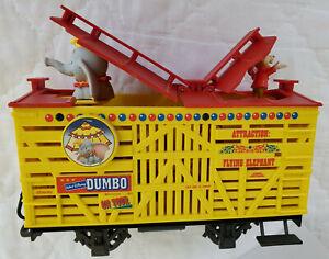 Vintage LGB Trains Disney Animated Dumbo & Timothy Mouse Stock Car 94168 G Box