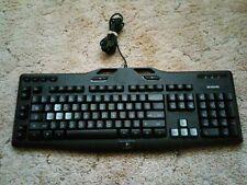 Logitech G105 (Y-U0013) 920-003371 Wired USB Backlit Gaming Keyboard - Black.