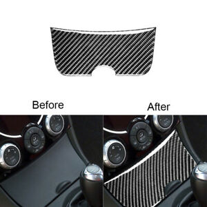 For Mazda RX-8 2004-2008 Carbon Fiber Storage Box Panel Cover Trim Decoration
