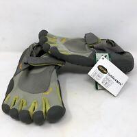 Vibram Womens Five Fingers Sprint Gray Barefoot Running Shoes Sz 38 EU 7.5-8 US