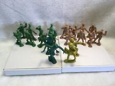 Base militare in plastica PLAYSET FORTINO materiale di riempimento dell/'Esercito Soldato Battaglia Toys