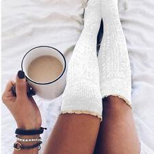 Fashion Women Winter Knit Over knee Long Boot Thigh-High Warm Socks Leggings New