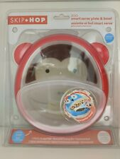 Skip Hop ZOO SMART SERVE PLATE AND BOWL - MONKEY Toddler - 3 pieces