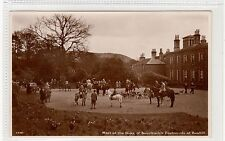 More details for the duke of buccleuch's foxhounds at bowhill: selkirkshire postcard (c27612)