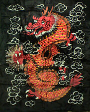 Brand New Dragon print Queen size Luxury blanket