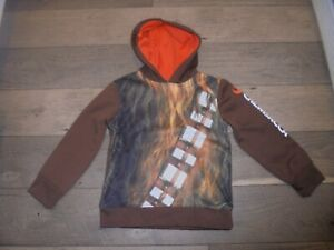 Star Wars A Collection for Kohl's Chewbacca hooded sweatshirt size 5/6 School